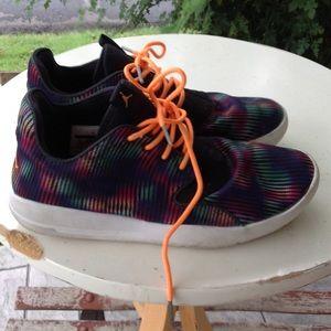 Boys Nike Jordan sneakers.